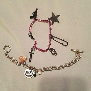 Hot topic charm bracelets